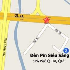 Đèn Pin Siêu Sáng - 579/19/8 Quốc Lộ 1A, F Thạnh Lộc, Q12, HCM