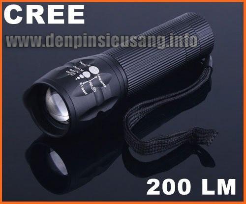 Đèn pin siêu sáng C30