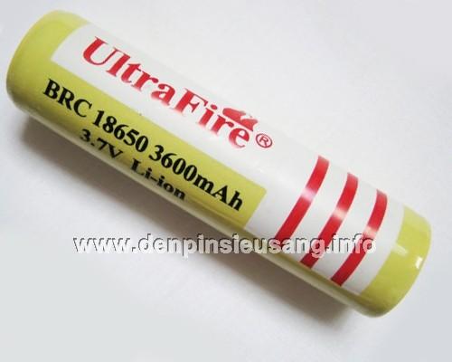 Pin Ultrafire 3600mAh