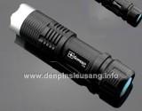 Đèn pin siêu sáng Y23 công suất cao 800lm nhưng kích cỡ vô cùng nhỏ gọn, có khả năng zoom, thích hợp tự vệ. Thông số kĩ thuật: - Hảng sản xuất: Ultrafire, Trustfire, Goread - Mã SP: Y23, K23 - Led CREE XML-T6, cho độ sáng cực cao - Độ sáng 800 lumen - Kích thước: 114mm x 28mm x 28mm - Trọng lượng: 85g - Đèn có 3 chế độ sáng: Hight /...