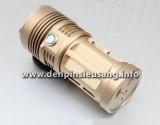Đèn pin siêu sáng Trustfire Y40 với thiết kế độc đáo, 3 led XM-l T6 dùng 1-4 pin cho độ sáng cực cao. Thông số kĩ thuật: - Thương hiệu: Trustfire - Mã SP: Y40, D40, K40 - Sử dụng 3 Led CREE XML-T6, cho độ sáng cực cao - Độ sáng thực 2000 lumen - Chiếu xa: 100m - Kích thước: 133mm x 57mm x52mm - Trọng lượng:330g - Đèn có 3 chế độ...