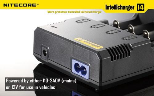Sạc cao cấp NiteCore Sysmax I4 - V2