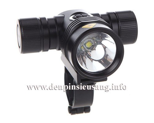 đèn xe đạp FK08 là mẫu đèn cao cấp dành riêng cho xe đạp với độ sáng cao 1000lm, khả năng chống nước tốt, pad sắt chuyên nghiệp Thông số kĩ thuật: - Thương hiệu: Ultrafire - Mã sp: FK08, SD08 - Sử dụng CREE XML-T6, cho độ sáng cực cao - Độ sáng 1000 lumen - Chiếu xa 150m - Kích thướt: 70mm x 80mm - Trọng lượng: 156g - Đèn có 5 chế...