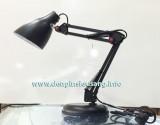 Đèn bàn MT-820 cải tiến chóa đèn cực đẹp, nhỏ gọn, chỉnh cao thấp và xoay dễ dàng, tiện cho việc học tập, nghiên cứu, sữa chữa Thông số kĩ thuật: - Bóng: 5w – 15w - Đuôi bóng đèn: E27 - Ánh sáng: trắng, vàng - Kích thướt: 25cm x 25cm - Màu sắc: đen, trắng, đỏ - Thân đèn: thép cứng sơn tĩnh điện - Chóa cầu bầu tròn căt xéo cực đẹp,...
