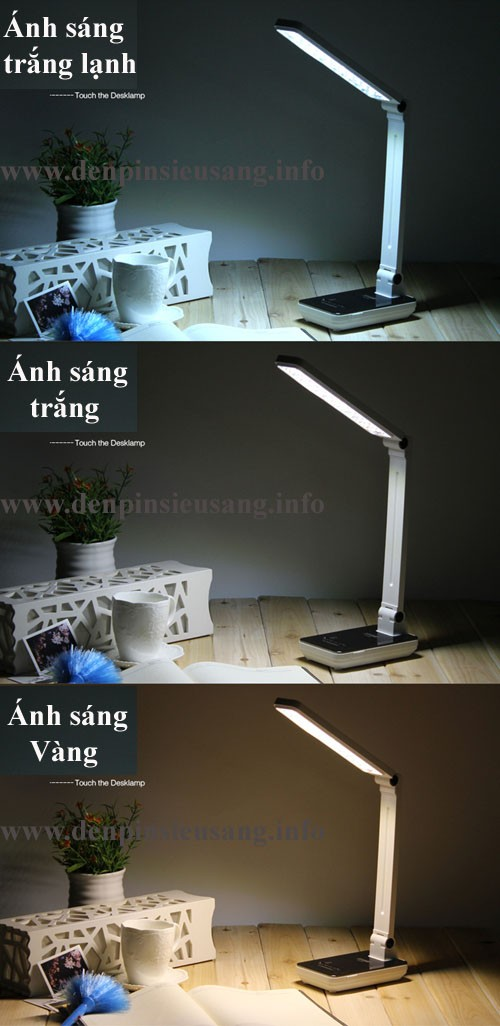 Đèn bàn led thông minh 689 bảo vệ thị lực