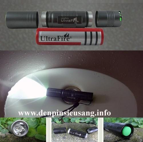 Đèn pin siêu sáng mini Ultrafire S5