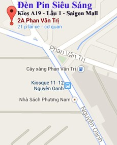 Đèn Pin Siêu Sáng - Shop A19 - Lầu 1 siêu thị SaiGon Mall, 2A Phan Văn Trị, F10, Gò Vấp, Tp HCM