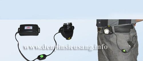 Đèn đeo trán T6U 800lm zoom