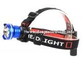 Đèn đeo trán zoom t6 1pin cho độ sáng cao 800lm, khả năng zoom tùy chỉnh chiếu xa hoặc chiếu rộng tiện lợi Thông số kĩ thuật: - Sử dụng Led CREE XM-L T6, cho độ sáng cực cao - Độ sáng 800 lumen - Chiếu xa 150m - Đèn có 3 chế độ sáng: Hight / Mid / Strobe. - Vỏ hợp kim nhôm siêu bền, ko rỉ sét, thiết kế kín với các...