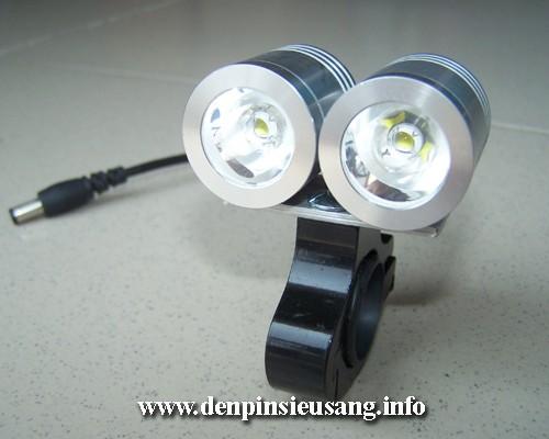 Đèn xe đạp siêu sáng SLC-0315 2000lm