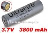 """<div class=""""at-above-post-cat-page addthis_tool"""" data-url=""""http://denpinsieusang.info/pin-18650-ultrafire-3800mah-3-7v-protected/""""></div>Pin ultrafire 3800mAh 3.7v protected là chuẩn pin 18650, có mạch bảo vệ. Thông số kỹ thuật: Chuẩn pin 18650 Thương hiệu: Ultrafire Điện thế: 3.7v Dung lượng: 3800mAh Màu sắc: xám Có mạch bảo vệ chống sạc và xả pin quá mức Chống cháy nổ, chảy nước hay phù. Giá 100.000 vnđ<!-- AddThis Advanced Settings above via filter on get_the_excerpt --><!-- AddThis Advanced Settings below via filter on get_the_excerpt --><!-- AddThis Advanced Settings generic via filter on get_the_excerpt --><!-- AddThis Share Buttons above via filter on get_the_excerpt --><!-- AddThis Share Buttons below via filter on get_the_excerpt --><div class=""""at-below-post-cat-page addthis_tool"""" data-url=""""http://denpinsieusang.info/pin-18650-ultrafire-3800mah-3-7v-protected/""""></div><!-- AddThis Share Buttons generic via filter on get_the_excerpt -->"""