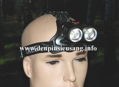 Đèn xe đạp -đèn đeo trán D30 Q5
