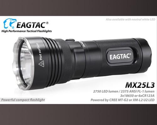Đèn Pin Eagtac MX25L3