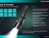 Đèn pin siêu sángOlight M18Strikerlà mộtphiên bản tự vệcủa đèn pin siêu sángOlightM18 Maverick. Với mộtvòng thép5 cạnh sắc bén vàphương pháp sử dụng đơn giản,Đèn pin siêu sángOlightM18Strikertrở thành mộtđèn pin tự vệđúng nghĩa.Nhấn công tắc nguồn đèn lập tức cho ra công suất 800Lumensgiúp bạn ngăn chặn bất kỳ kẻ tấn côngnào. Đèn pin siêu sángOlight M18Striker có vòng thép không gỉkết hợp vớiđộ sáng cao sẽ rất hiệu quả để giúp bạn...
