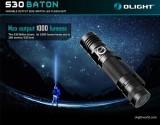 Đèn pinOlight S30 là cây đèn anh cả trong dòng EDC của Olight, vẫn nhỏ gọn nhưng gia tăng thêm 1 mức sáng Turbo 1000Lumens thích hợp cho dã ngoại. Đèn pin Olight S30 Baton vẫn duy trì nam châm đuôi cho phép hít dính đèn lên các vật dụng bằng sắt để thao tác rảnh tay, kèm theo là clip cài thép cứng và dày hơn các phiên bản S20,S10… Thông số kĩ thuật:...
