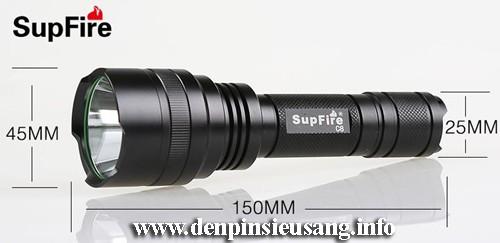 Đèn Pin Siêu Sáng SupFire C8