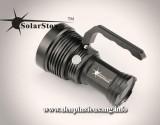 Đèn pin Solarstorm SP03 là mẫu thiết kế siêu khủng với thân đèn dày, sử dụng 3 Led XM L2 U2 cho độ sáng ấn tượng 3020Lumens, khả năng chiếu xa trên 500m Thông số kĩ thuật: - Mã sản phẩm: Solarstorm SP03 - Led: CREE XM-3 × L2 U2 LED - Độ sáng: 3020lm - Chiếu xa: 500m - Kích thướt: 85mm (HD) × 155mm (L) x 114mm (TD) - Trọng lượng: 635g (không...