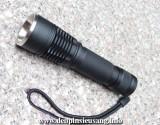 Đèn pin chiếu siêu sáng TX3 với thiết kế độc đáo, đầy ấn tượng, siêu nhỏ gọn, thân đèn bằng hợp kim nhôm siêu dày chống nước tốt, sử dụng 1pin 18560 cho độ sáng 900lm. Thông số kĩ thuật: – Mã sản phẩm: TX3 – Led: CREE XM-L2 T6 – Độ sáng: 900 lumen – Chiếu xa: 150m – Kích thước: 130mm x 32mm x 22mm – Trọng lượng: 121g – 3 chế độ […]