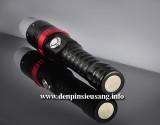 Đèn pin siêu sáng Z-34 là mẫu đèn tiện lợi, có chóa tản sáng dùng khi cúp điện, chuôi đèn với nam châm siêu hít. Thông số kĩ thuật: – Led Cree XML T6, cho độ sáng ổn định – Độ sáng 800 lumen – Chiếu xa: 150m – Kích thướt: 40mm x 165mm x 30mm – Trọng lượng:230g – 5 chế độ sáng: Hight / Mid /Low/ Strobe/SOS – Vỏ hợp kim nhôm siêu […]