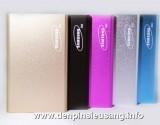 """<div class=""""at-above-post-cat-page addthis_tool"""" data-url=""""http://denpinsieusang.info/sac-du-phong-samsung-s53/""""></div>Sạc dự phòng Samsung S53 thiết kế siêu mỏng , kiểu dáng sang trọng , độ bền cao , ….. Thông số kỹ thuật: – Dung lượng pin: 5300mAh – 1 ngõ ra USB: USB 5V1A – Sạc được các thiết bị: máy nghe nhạc, điện thoại… – Ngõ vào: DC4.8-5.4V Max 2000mA cổng micro USB thông dụng (sạc điện thoại) – Kích thước: 109mm x 68mm x 9mm – Trọng lượng: 150g – Màu […]<!-- AddThis Advanced Settings above via filter on get_the_excerpt --><!-- AddThis Advanced Settings below via filter on get_the_excerpt --><!-- AddThis Advanced Settings generic via filter on get_the_excerpt --><!-- AddThis Share Buttons above via filter on get_the_excerpt --><!-- AddThis Share Buttons below via filter on get_the_excerpt --><div class=""""at-below-post-cat-page addthis_tool"""" data-url=""""http://denpinsieusang.info/sac-du-phong-samsung-s53/""""></div><!-- AddThis Share Buttons generic via filter on get_the_excerpt -->"""