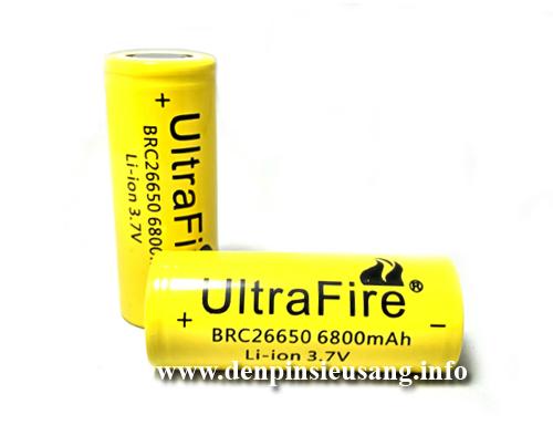 Pin 26650 Ultrafire