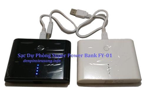 Sạc Dự Phòng Super Power Bank FY-01