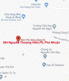 Đèn Pin Siêu Sáng - 264 Nguyễn Thượng Hiền P.5 Q.Phú Nhuận