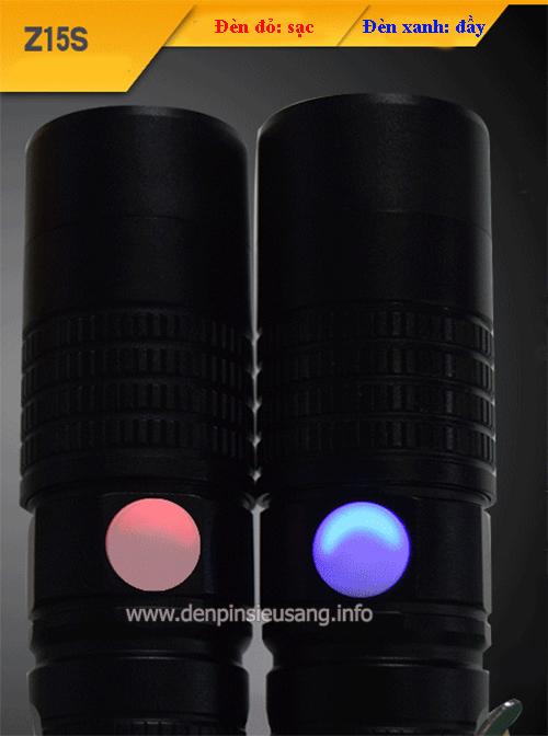 Đèn pin USB 1000lm