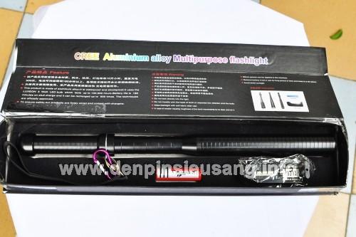 Đèn pin tự vệ C904